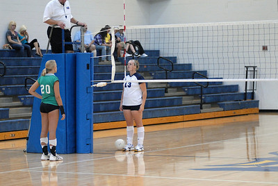 Grant County HS Volleyball 2010-2011