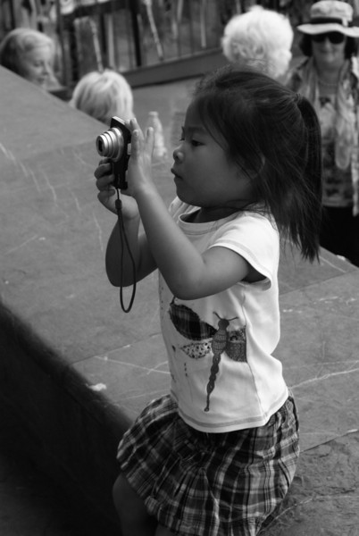 Budding Photographer, Florence