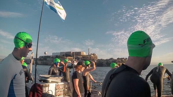 Alcatraz Swim for Sight 2016 SUPCam