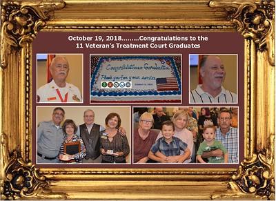10-19-18 Vet. Treatment Ct. Grad. Congrats to the 11 Graduates.