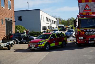Trafikolycka Norra fabriksgatan Lammhult