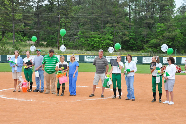 Softball Senior Day 2010