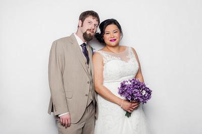 Brian & Josephine's Winnipeg Wedding Photobooth