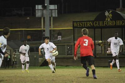 10/22/2014 Western Guildford Vs Central Davidson Boys Varsity Soccer