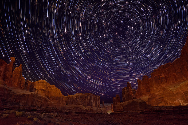 Comet Stars with twinkles at Park Place in Arches