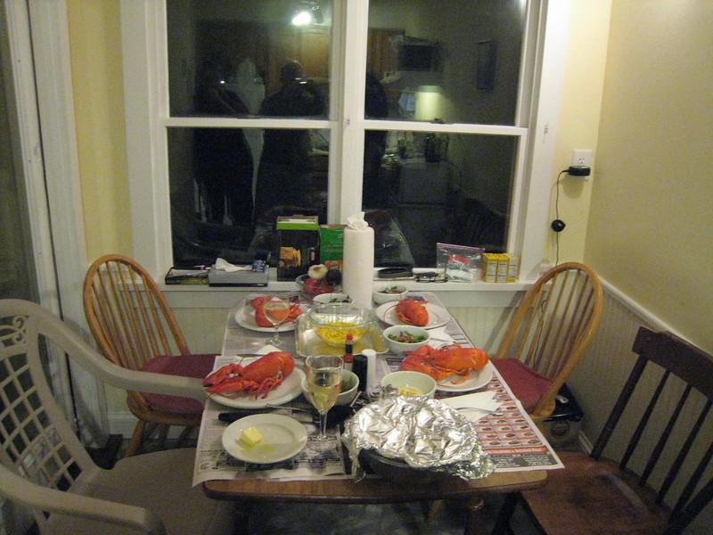 Yummy!  What a spread!