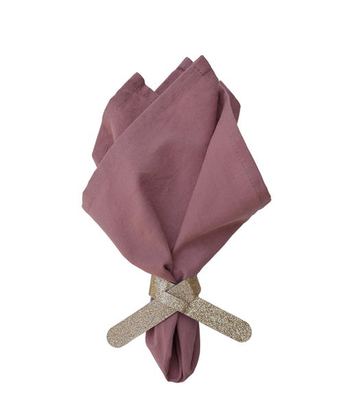DD.85.19.1 gold glitter napkin holder dusty pink napin.png
