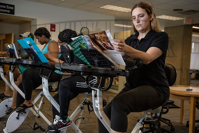 50610 Stationary Study Bikes in Dunbar Library 6-6-19