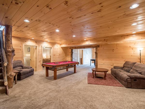 Gameroom downstairs