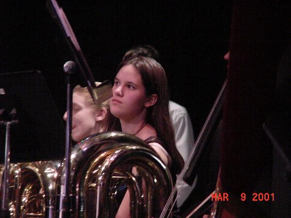 2001-03-09 Wind Ensemble Performance