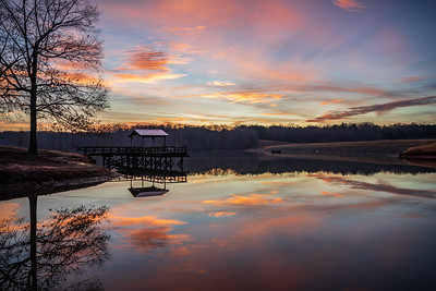 Lake Graham Pier Sunrise