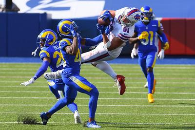 NFL: Rams at Bills; 9/27/20