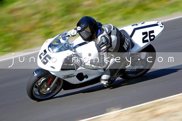 #26 - White Black GSXR