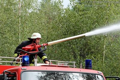 Übung Feuerwehr Gangelt 2015