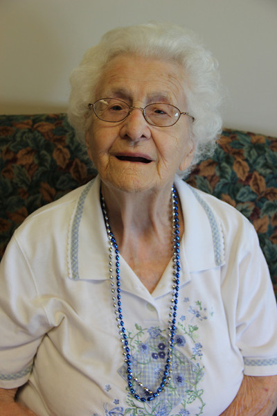 Woman Turns 100, Nursing Center, Hometown (7-16-2012)
