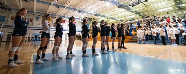 11-1-18 Garber Varsity Volleyball