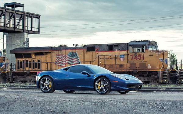 Ferrari 458 Italia - TDF Blue