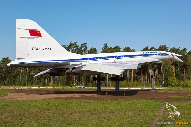 Aeroflot / Tupolev Tu-144LL /  CCCP-77114