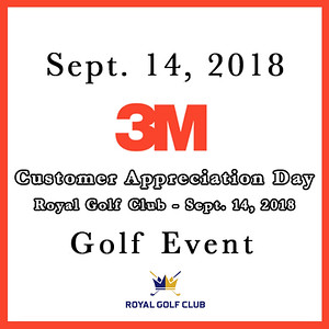 3M Customer Appreciation Day Golf Event 2018