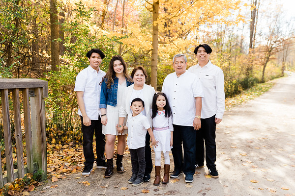 Santa Maria & Vedar Family Session 2020