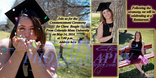 Ciara College Graduation