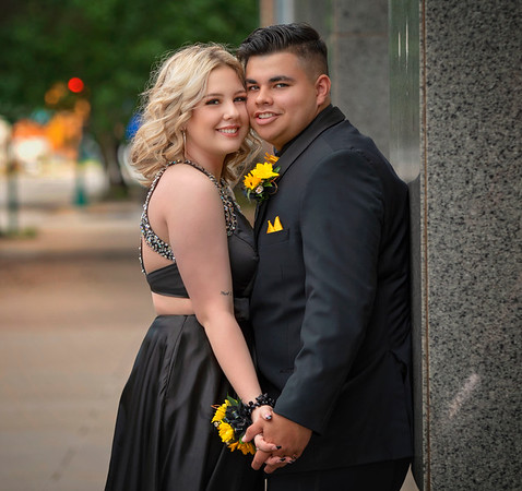 Nathan and Hailey Prom
