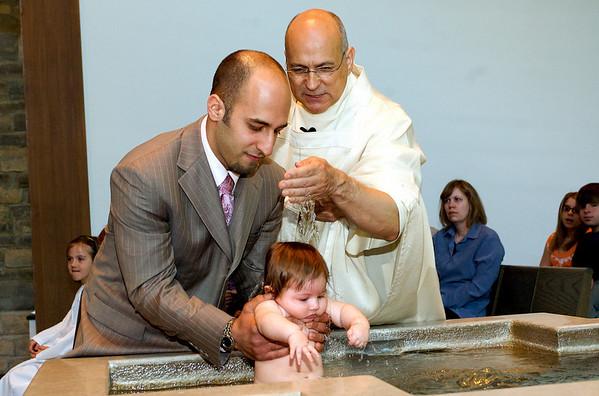 Olivia Daher's Baptism