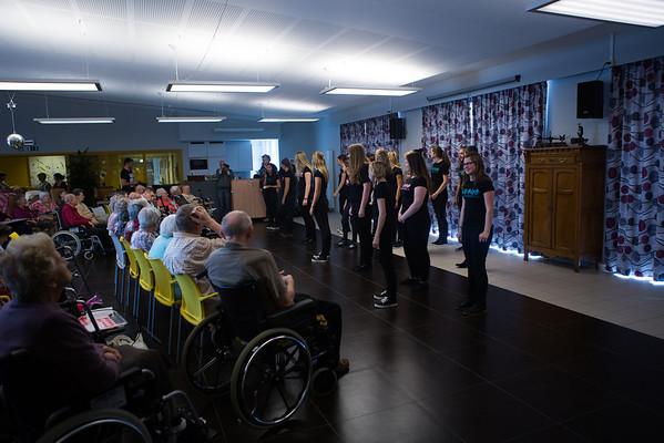 YC fall tour bejaardenhuis Gereedsbergen (20 oktober 2013)