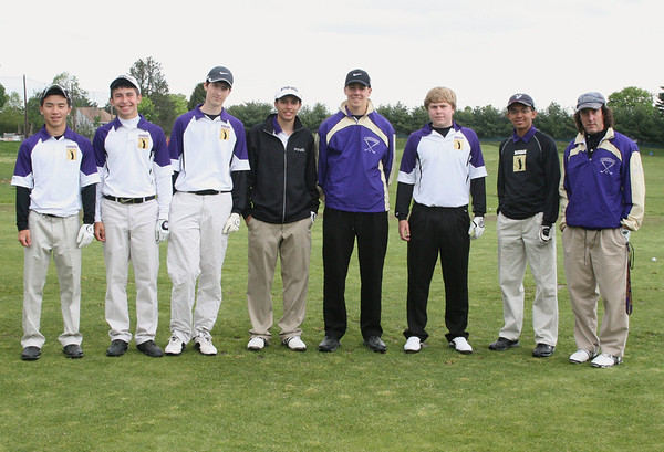 MTHS Falcon Golf Varsity vs Colonia at Forsgate Country Club, April, 23, 2012