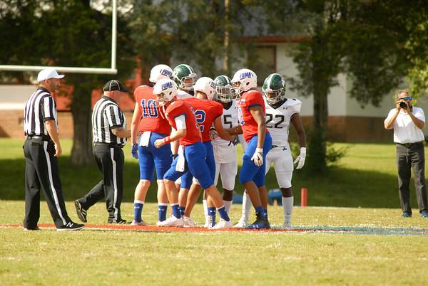 Prep Football vs. Benedictine - Sept. 15, 2017