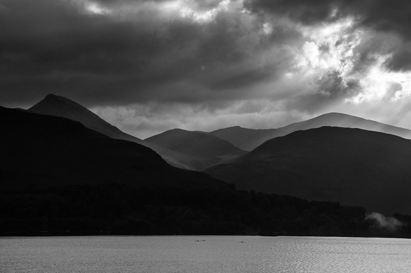 Kayaks on Derwent Water