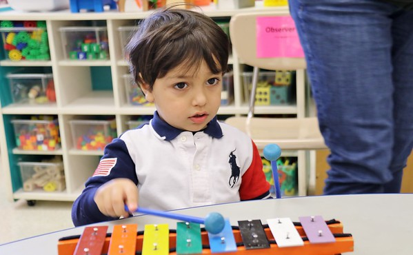 Child Development Music Day PM class 4-16-2019