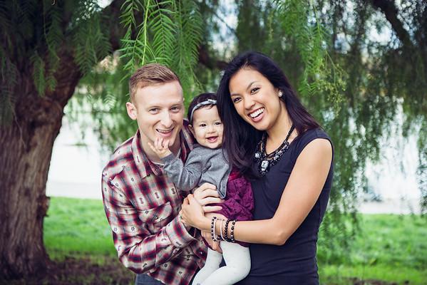 Tyler & Talia's Family Portraits