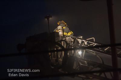 11/29/2014, 2 Alarm Commercial Structure, Vineland, Cumberland County NJ, 1715 S. Delsea Dr. Team Nissan