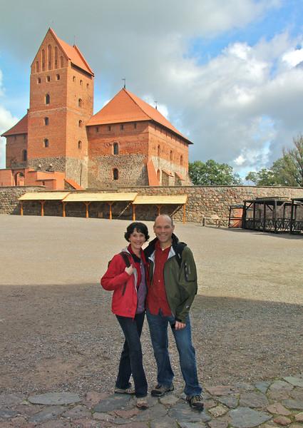 Main palace at Trakai Castle -Lithuania