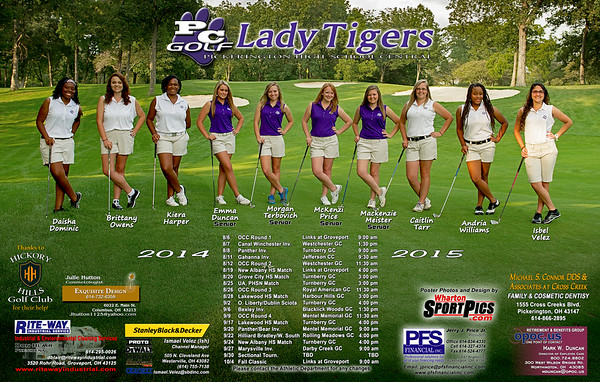 PHSC Golf Posters