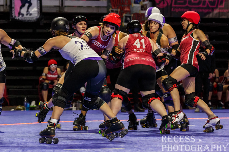 WFTDA 2017 Championships - Game 12 - Gotham vs Rose City ©Keith Bielat
