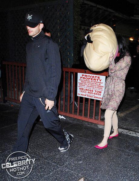 EXCLUSIVE: Demi Moore Is A Giant Boob For Halloween Alongside Ashton Kutcher! LA