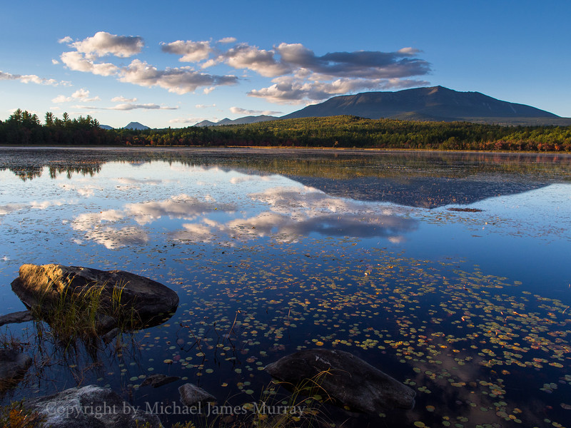Mt. Katahdin Sunset