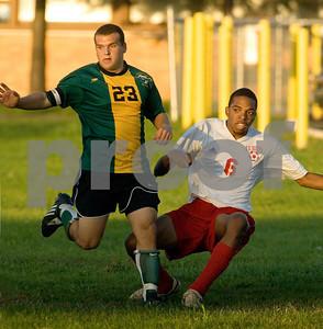 2008-10-15 Lynbrook HS Boys Soccer vs VS South HS, 2-2