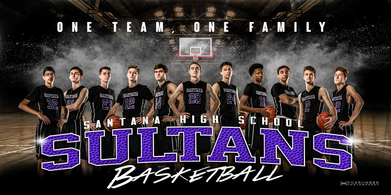 Santana Boys Basketball 2018-19