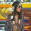 """Carolin Fernandez<br /> Soft Pastels<br /> 20"""" x 16""""<br /> $7,500"""