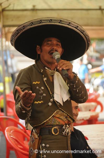Mariachi Singer - Juayua, El Salvador