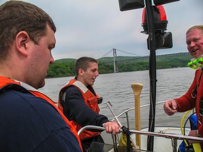 5-18-08 Boat Drill, Hudson River