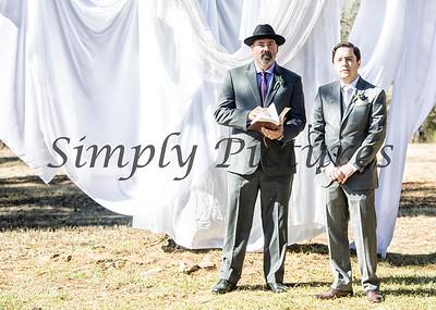 Cyntia and Luke Federick - the wedding