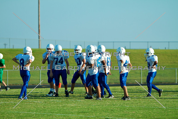 Jarrell VS. Moody 8th Grade Football