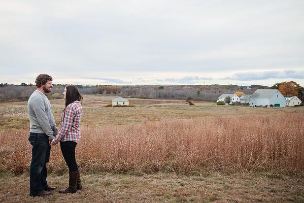 Ashley + Jay: Maine Engagements!