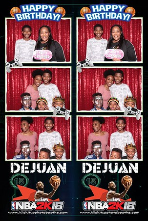 DeJuan's Birthday Celebration