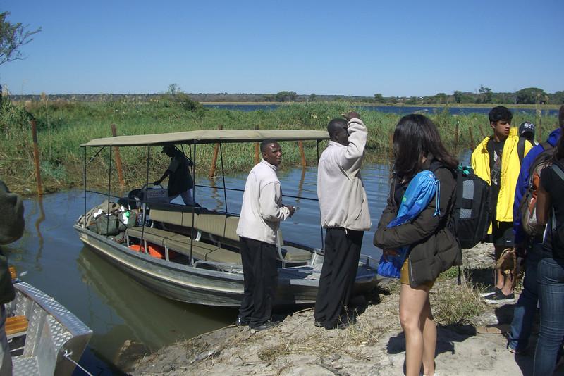 Boat to Botswana
