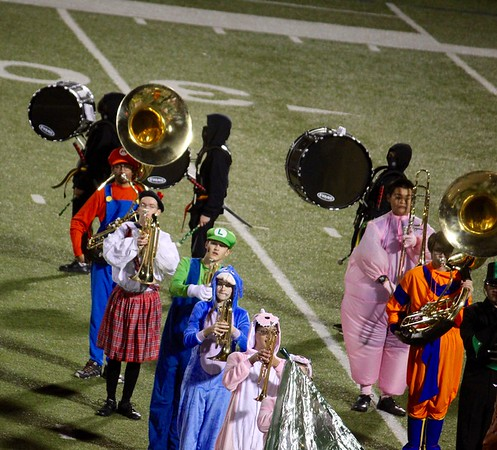 2018.11.01 - Band at Jasper-Shepton Game